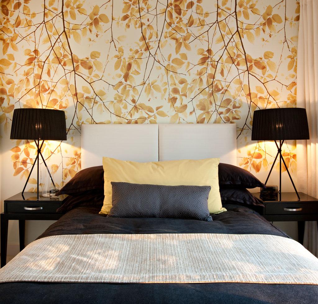 Best Inspiration Modern Bedroom Wallpaper   Decoseecom 1024x977