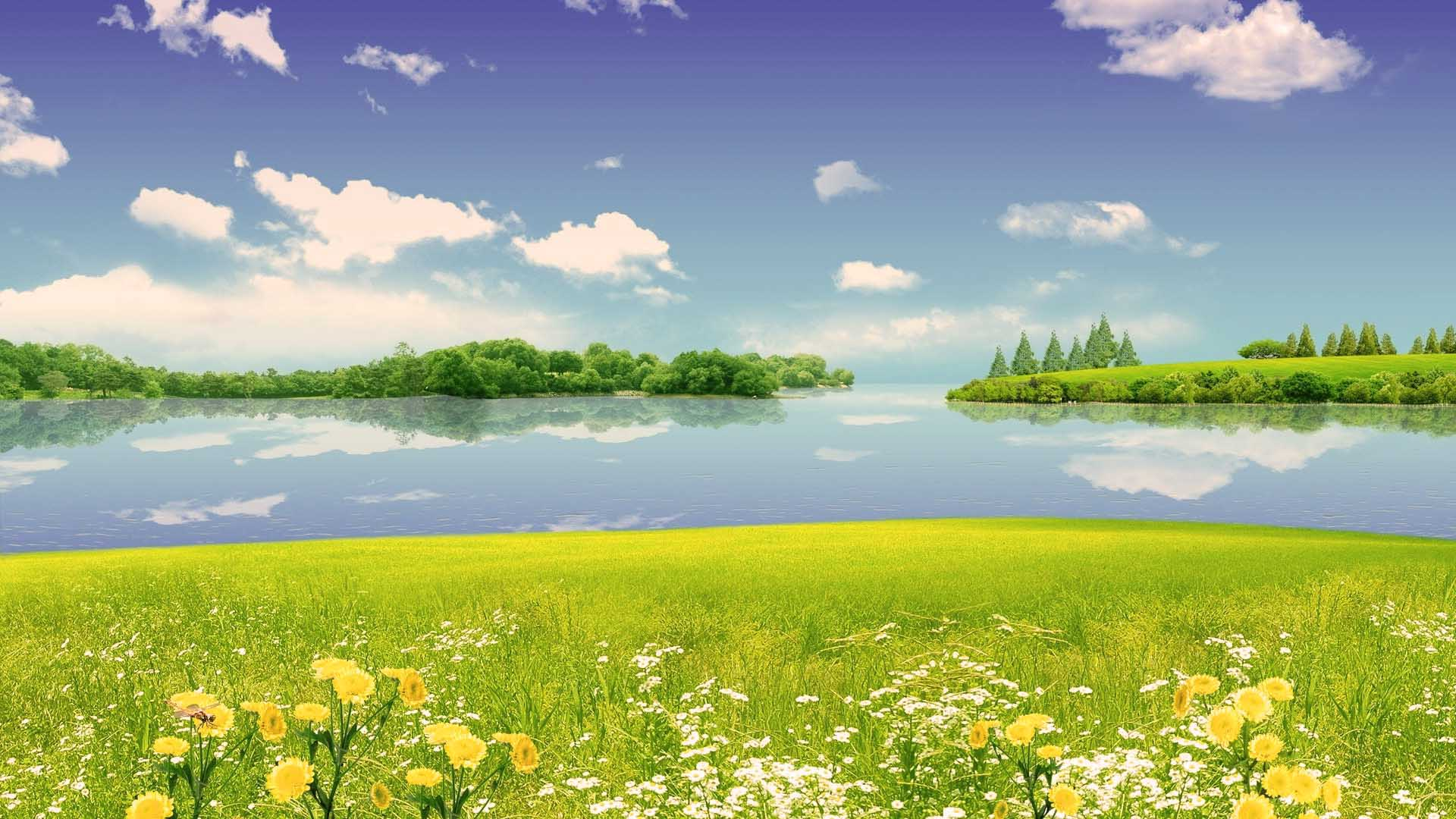 summer scenes widescreen full hd wallpaper for desktop background 1920x1080