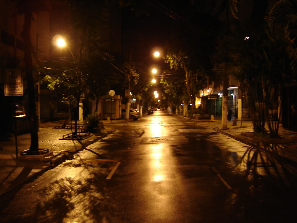 City Streets at Night Wallpaper City Street at Night Wallpaper 1024x768
