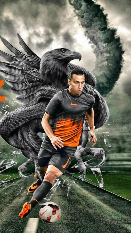 SportsZlatan Ibrahimovic 540x960 Wallpaper ID 614747   Mobile 540x960