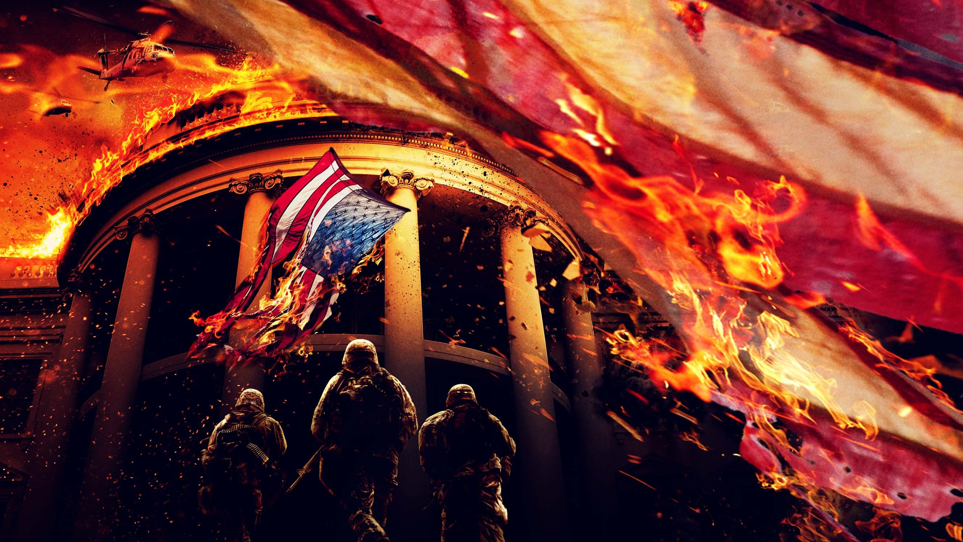 Olympus Has Fallen Wallpaper 1920x1080 by sachso74 1920x1080
