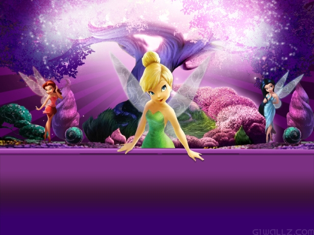 Free tinkerbell screensavers and wallpaper wallpapersafari - Free fairy wallpaper and screensavers ...