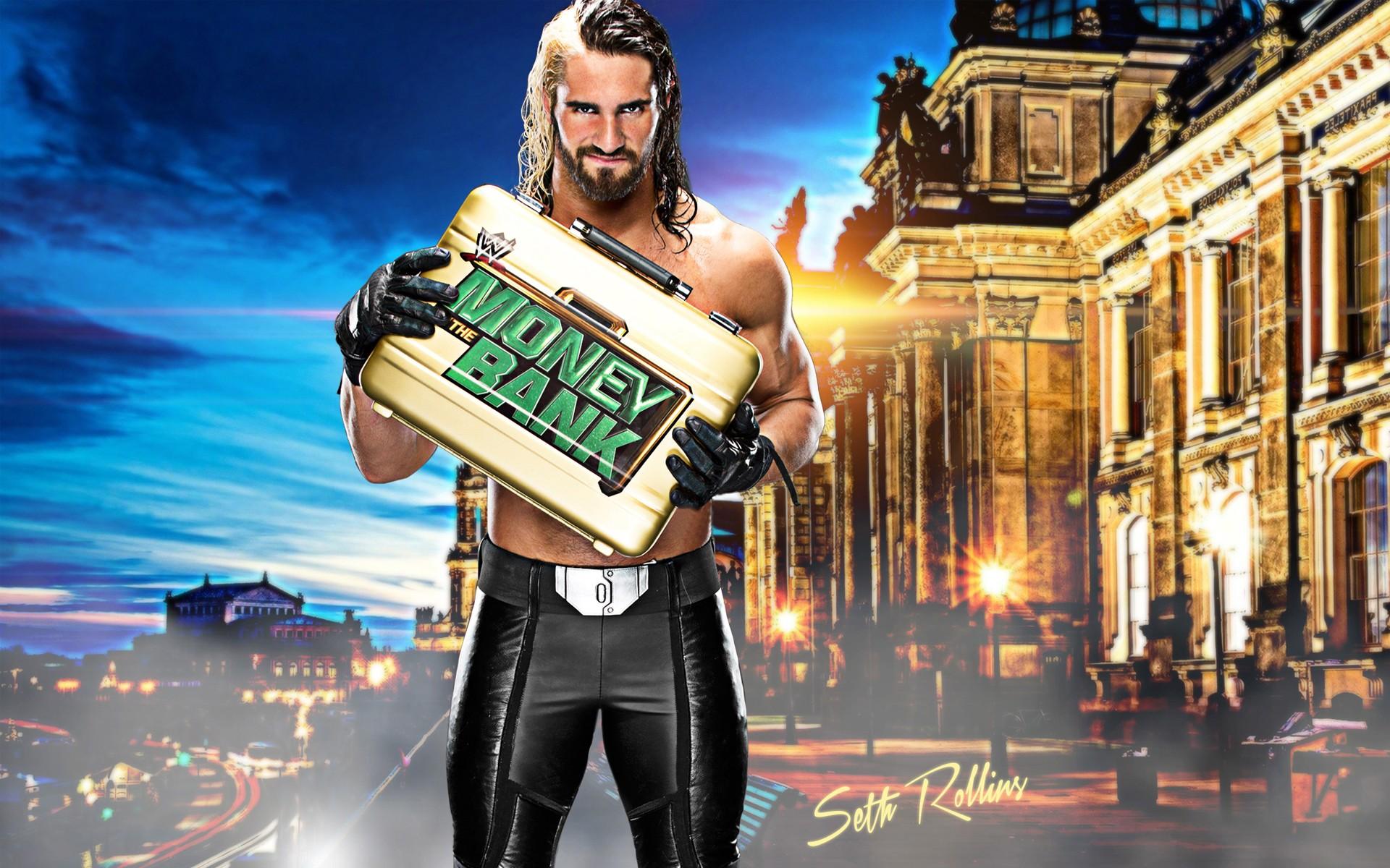 47 Seth Rollins Hd Wallpaper On Wallpapersafari