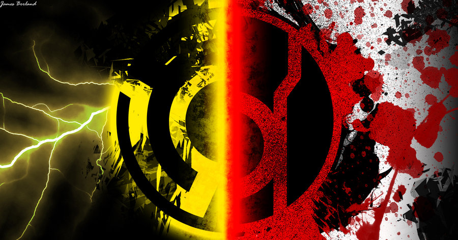 red lantern corps vs sinestro corps by dadio46 d52fl27jpg 900x471