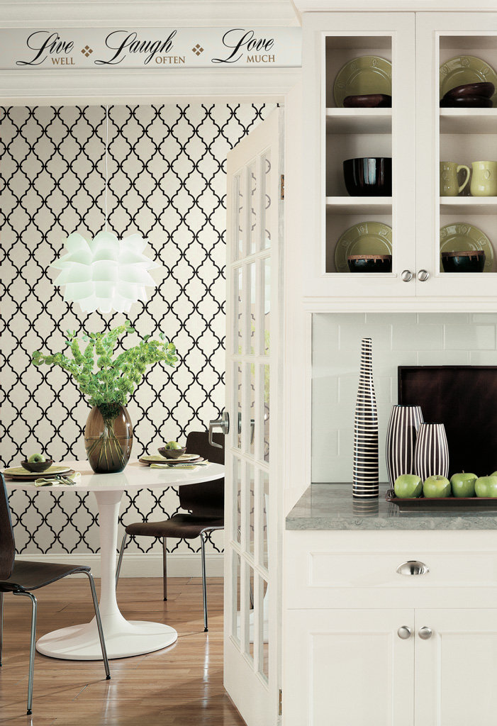 trellis wallpaper to easily create a fun feature wall view larger 701x1024