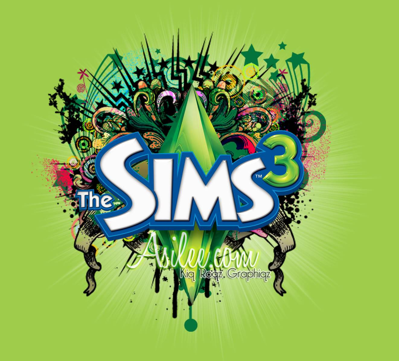 thesims3graphics   The Sims 3 Wallpaper 1322x1195