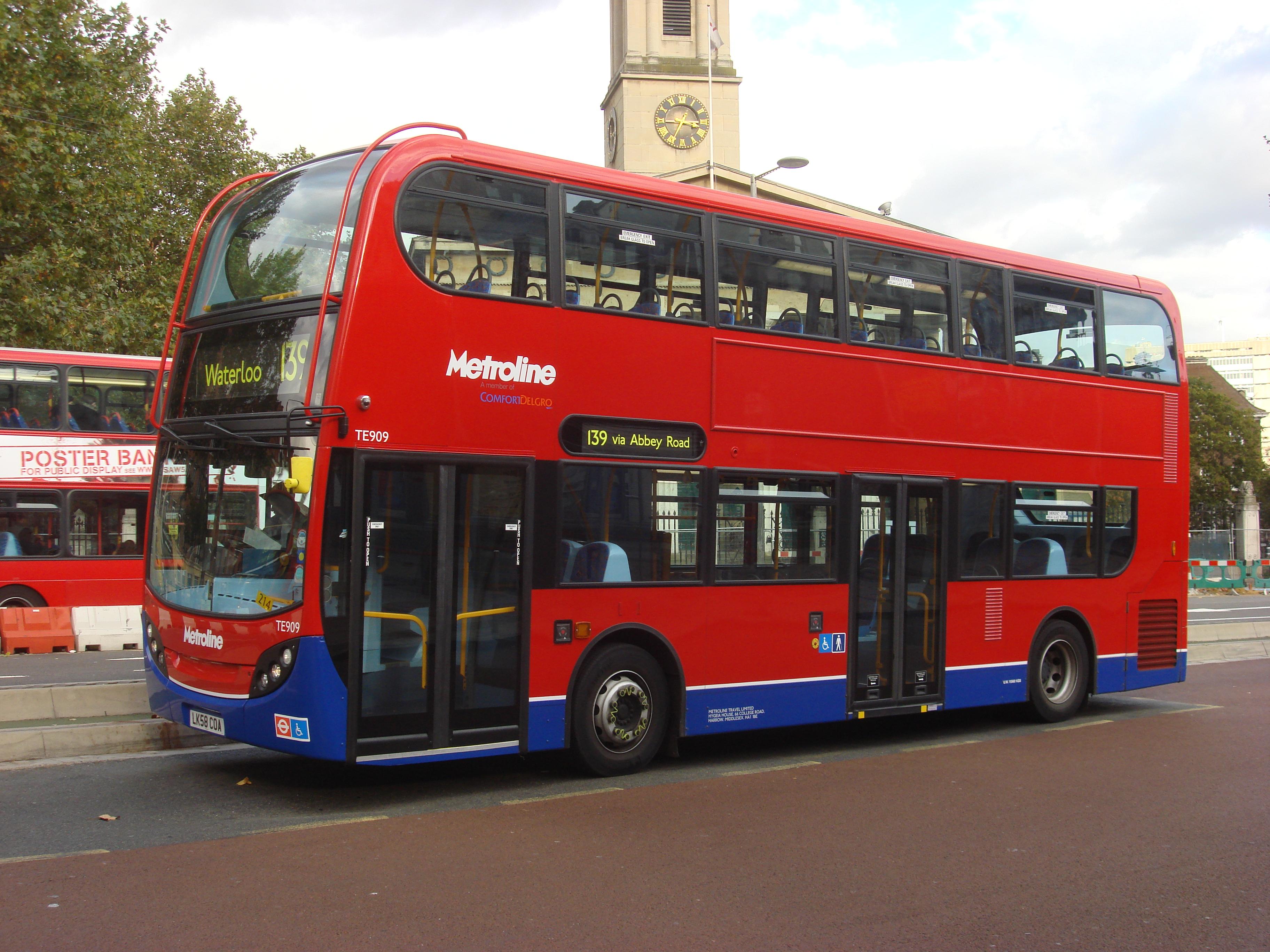 FileLondon Bus route 139 Ajpg 3648x2736