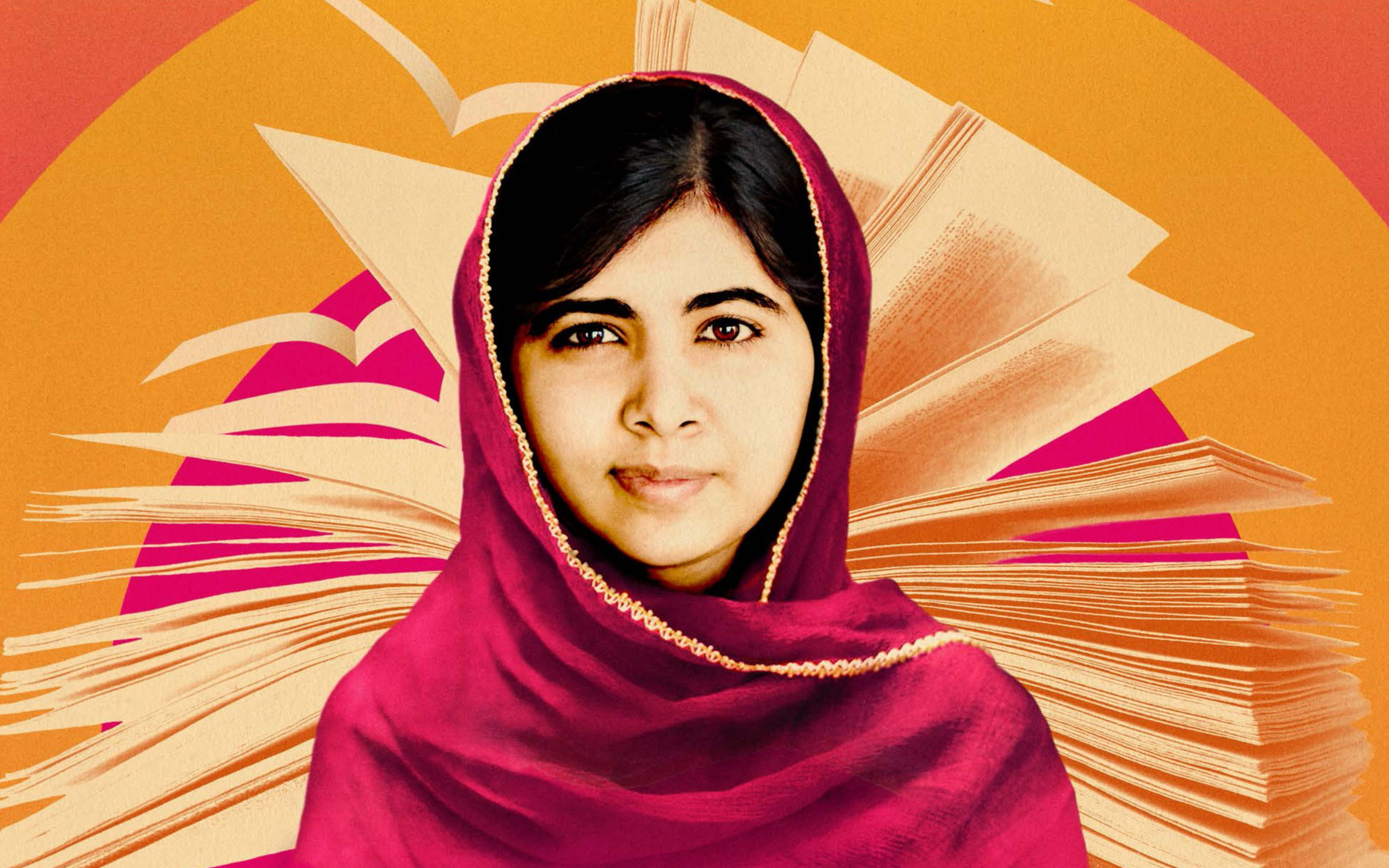 Malala Yousafzai Wide Wallpaper Desktop HD Wallpaper   Download 3168x1980