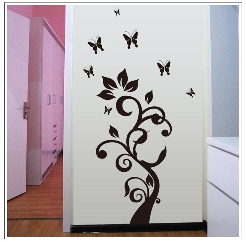 stereoscopic 3D creative wall stickers removable sticker wallpaper 786x774