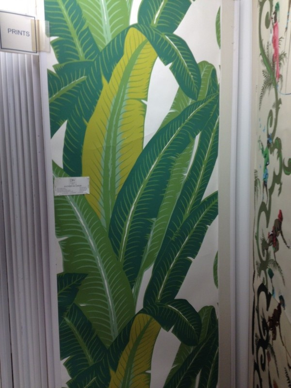 Schumacher palm leaf wallpaper Things I want in a home Pinterest 600x800