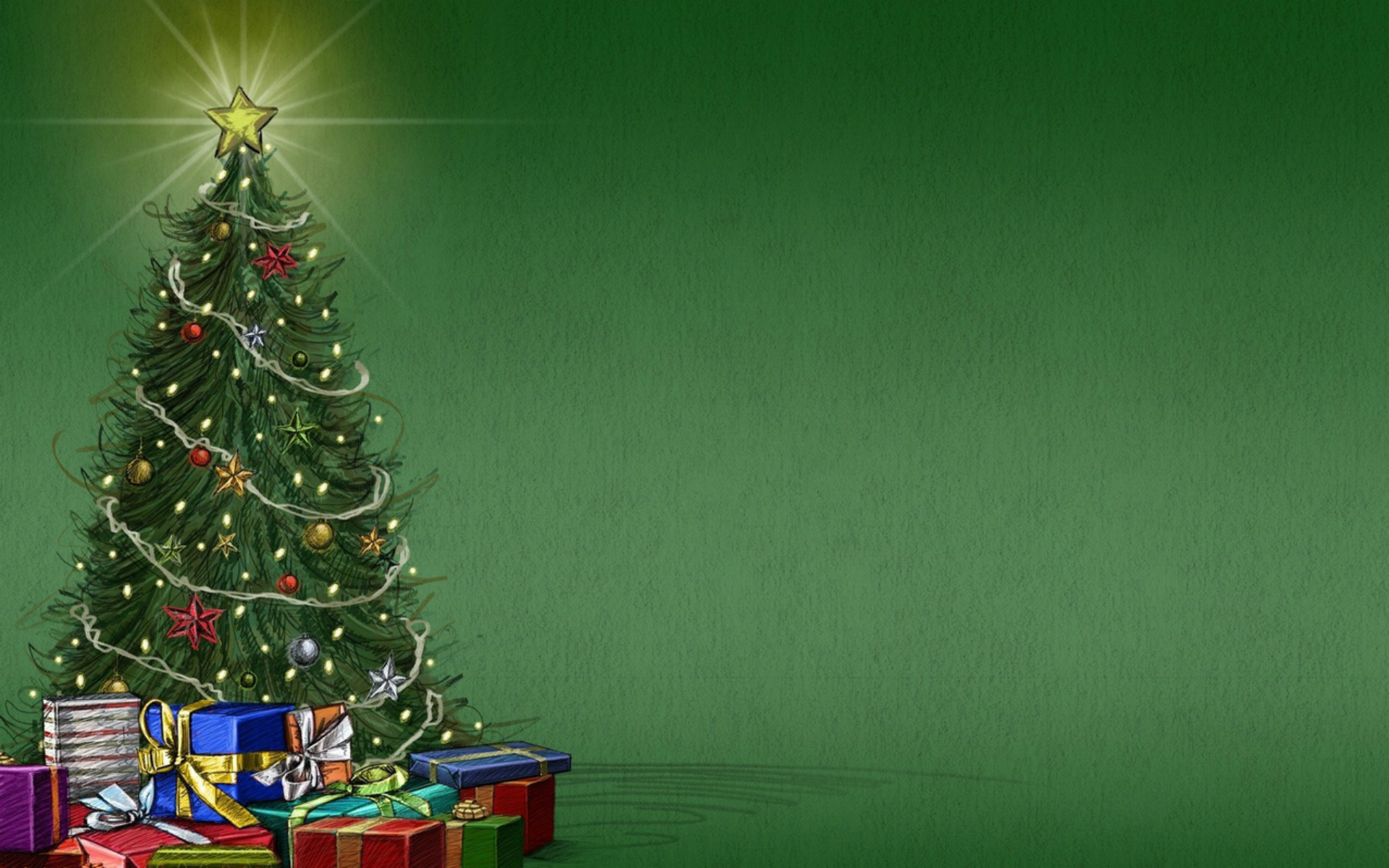 christmas tree wallpaper free - wallpapersafari