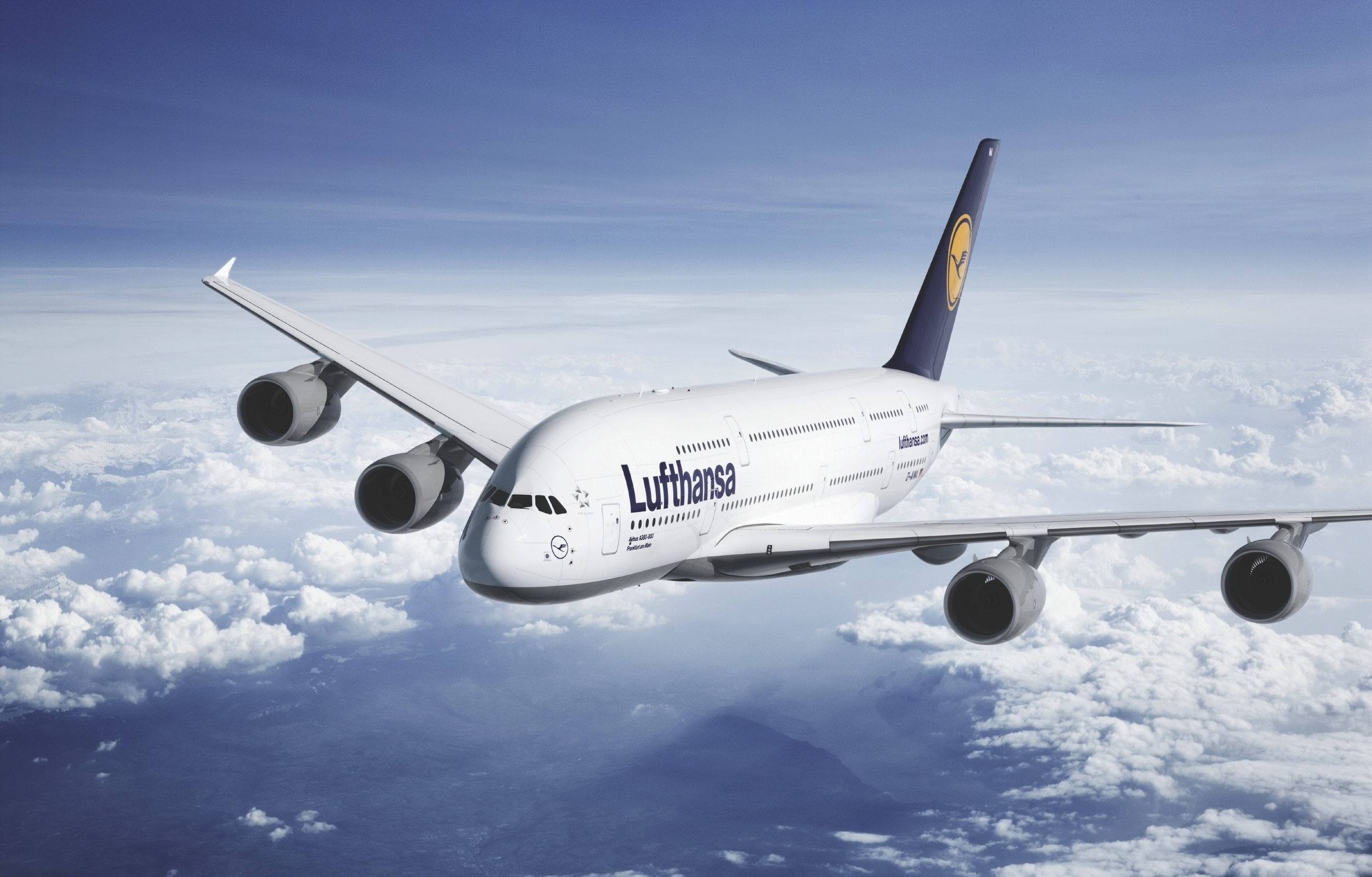 A380 Lufthansa 2504x1600 6107 HD Wallpaper Res 2504x1600 DesktopAS 2504x1600