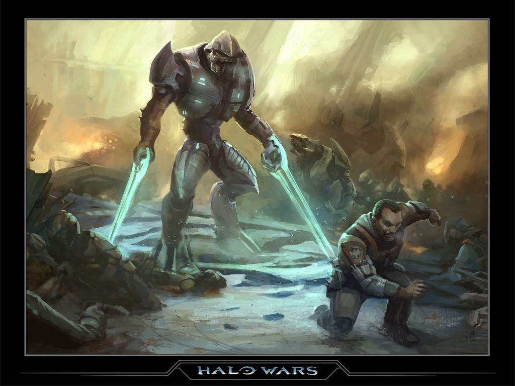 Halo Wars Elite Halo Elite Wallpaper -...