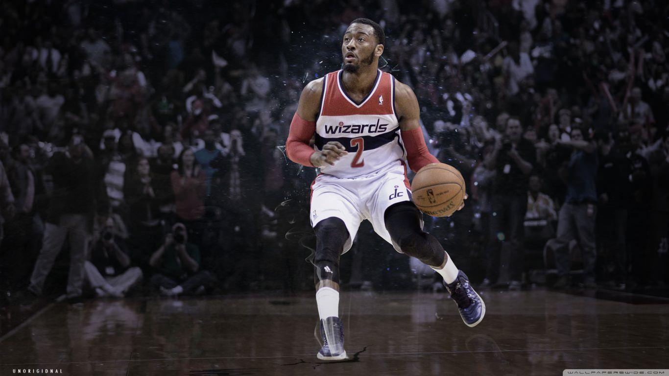 NBA Basketball Background 1366x768