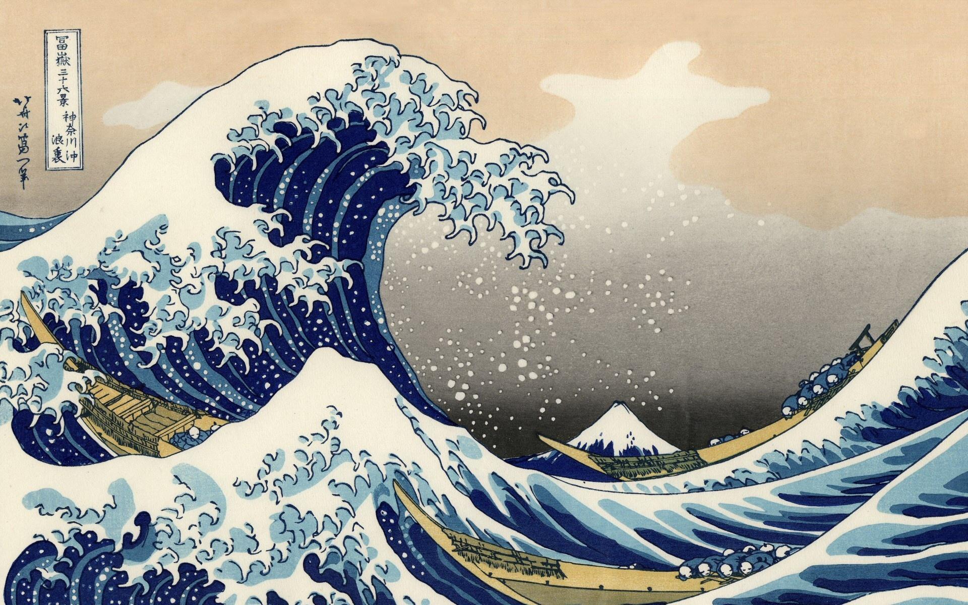 by Katsushika Hokusai Desktop Widescreen Computer Backgrounds 1920x1200