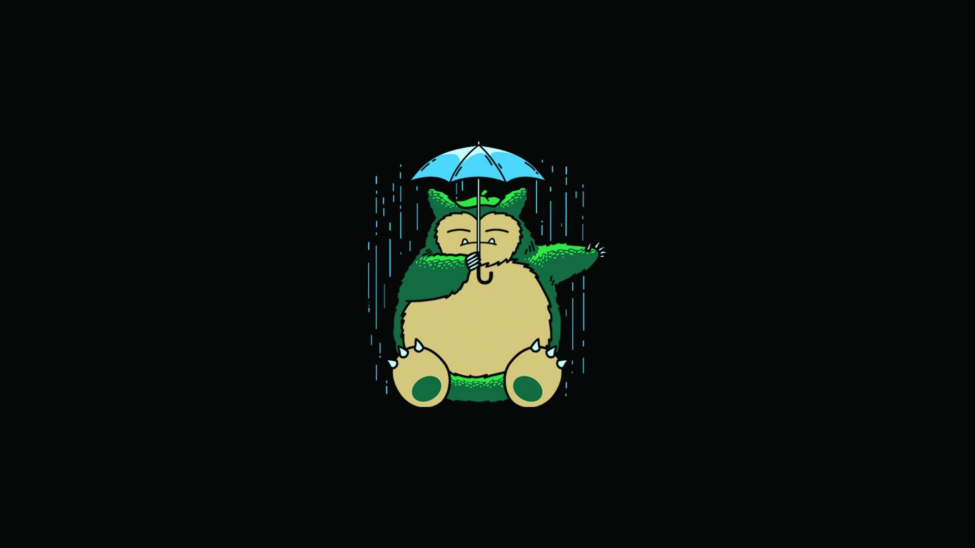 Free Download My Neighbor Totoro Totoro Anime Umbrella Rain