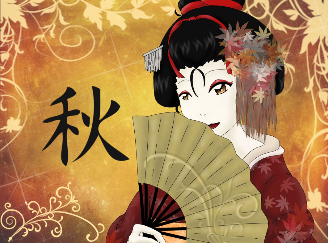 Nice HD Wallpapers Anime Geisha HD Wallpapers 1062x786
