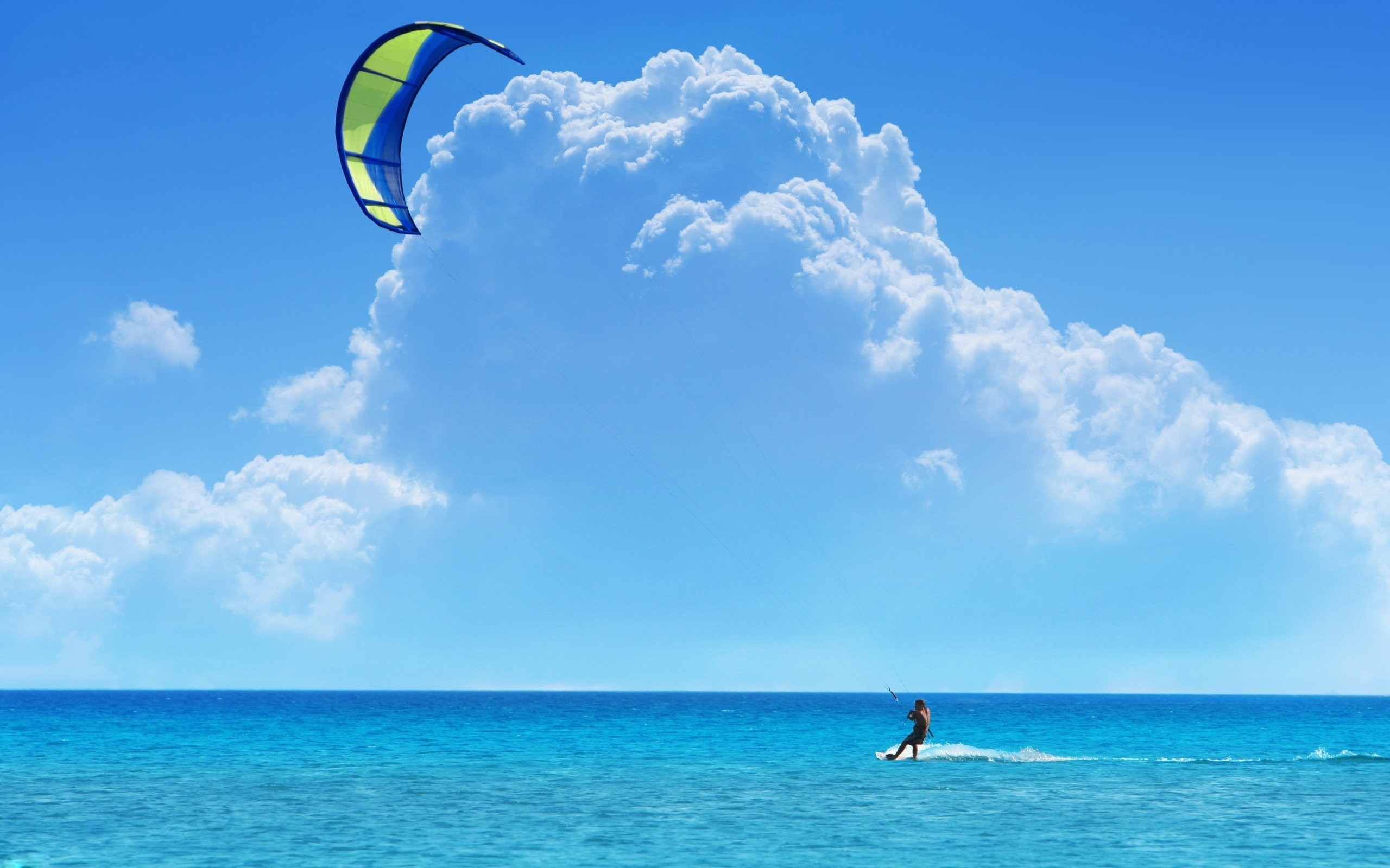 Kitesurfing wallpapers and images   wallpapers pictures photos 2560x1600