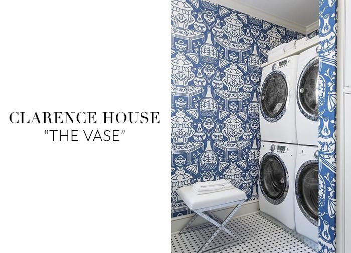 Room The Vase Hicks Clarence House Wallpaper sohautestylecom 700x505