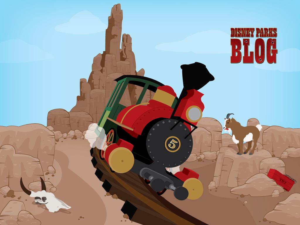 Big Thunder Mountain Railroad 1024x768