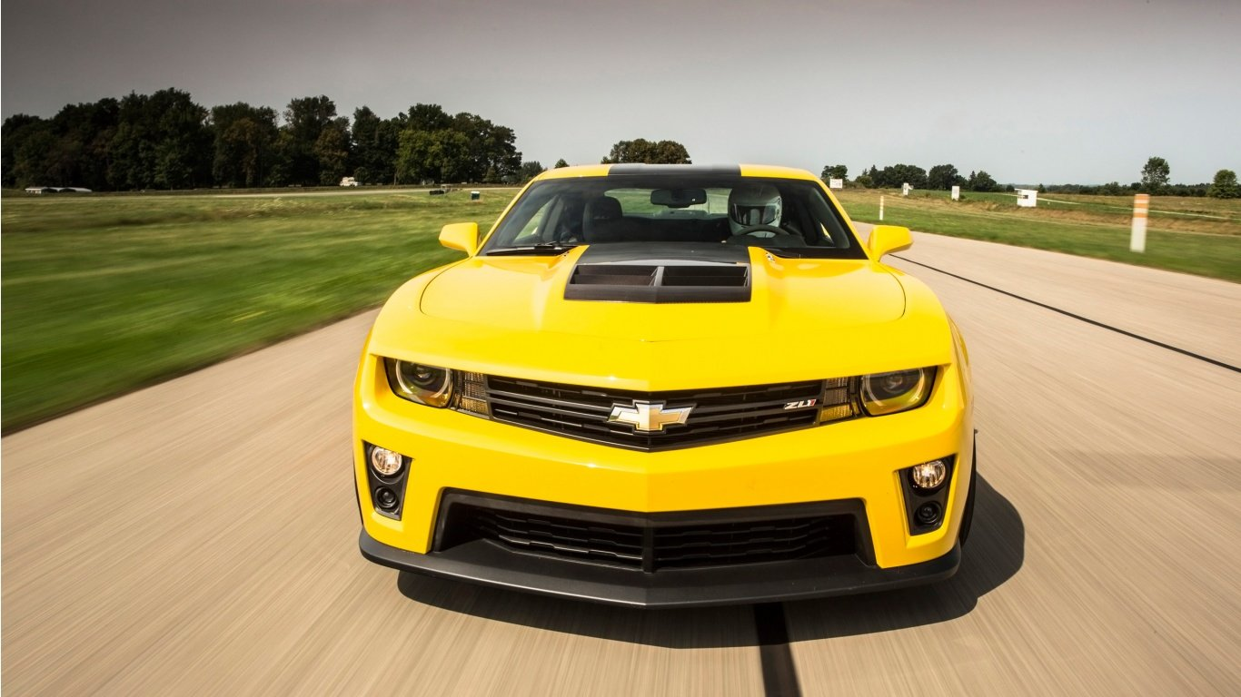 Chevrolet Camaro ZL1 Coupe 2014 Wallpaper HD Car Wallpapers 1366x768