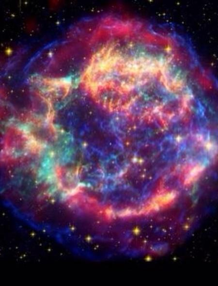 Rainbow Supernova Wallpaper for Amazon Kindle Fire HD 89 450x590