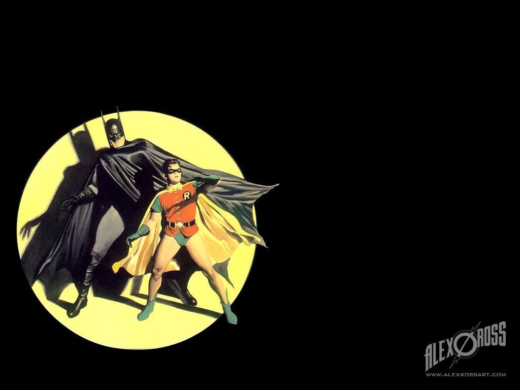 batman and robin description batman and robin by alex ross 1024x768