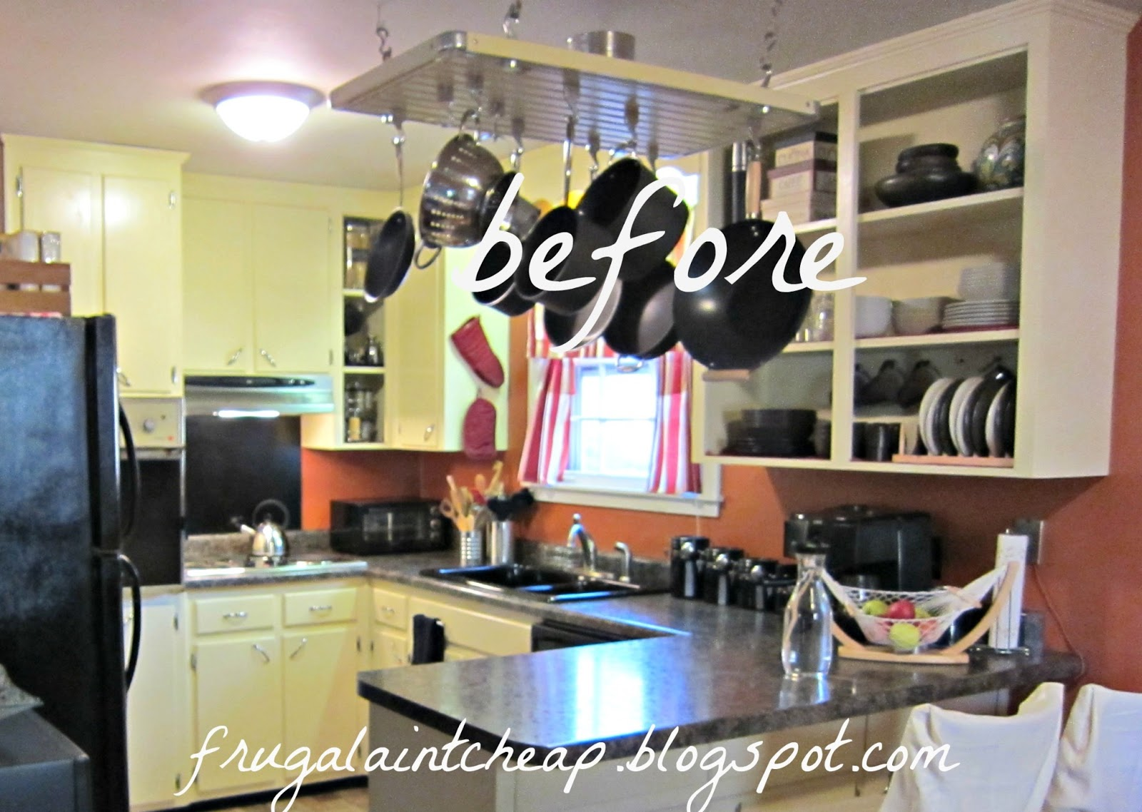 Frugal Aint Cheap Kitchen Backsplash great for renters too 1600x1138