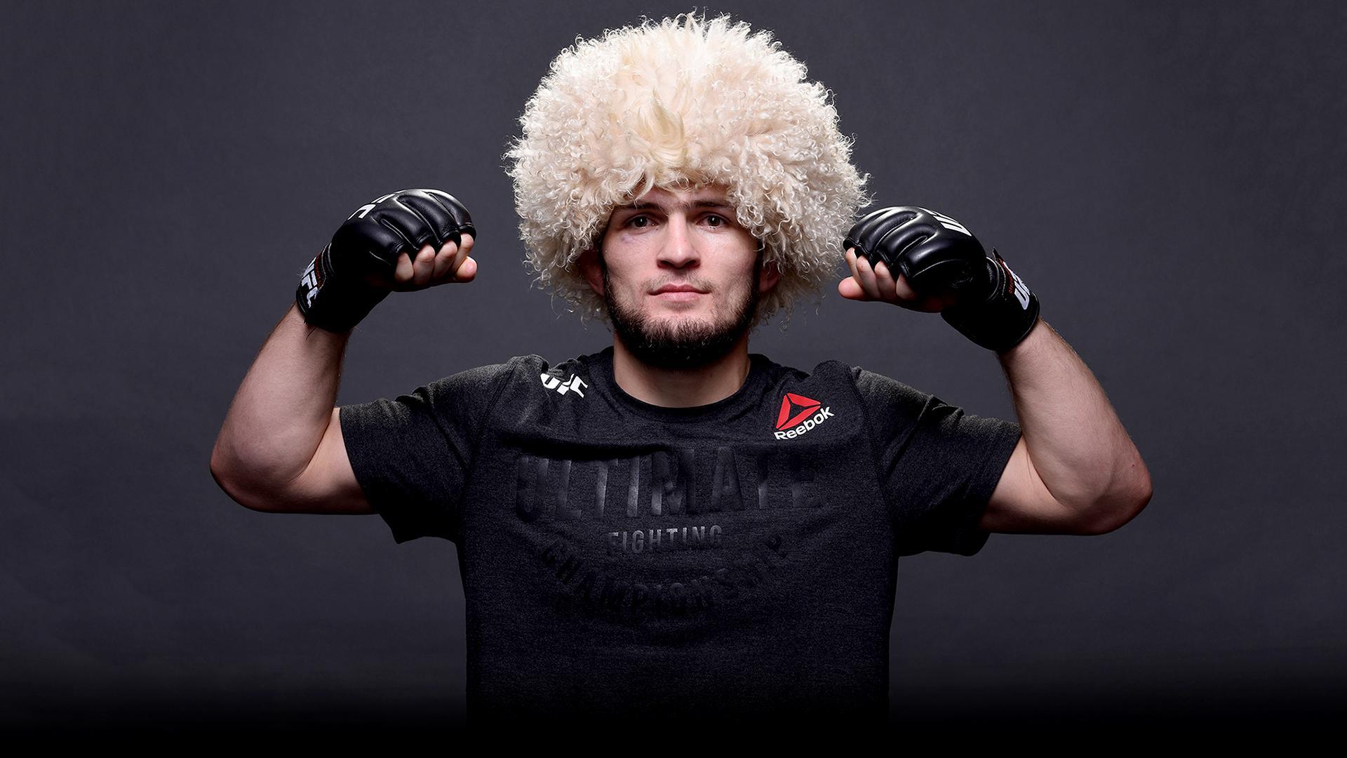 Wallpaper of Habib Nurmagomedov Fighter Sport MMA UFC 1920x1080