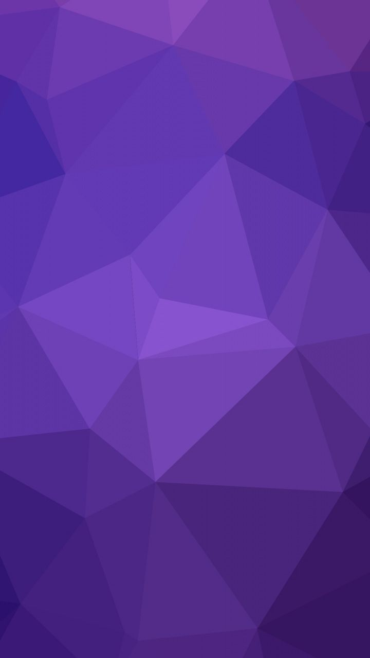 Geometry triangles gradient purple abstract 720x1280 720x1280