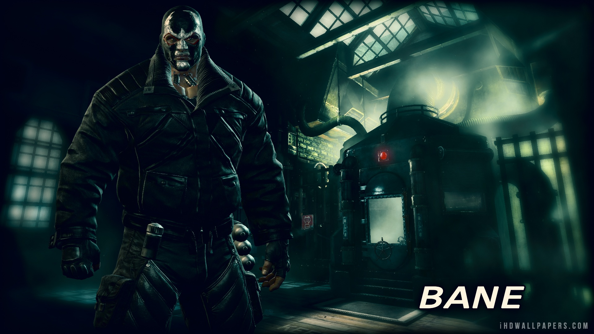 28 Batman Origins Bane Wallpaper On Wallpapersafari