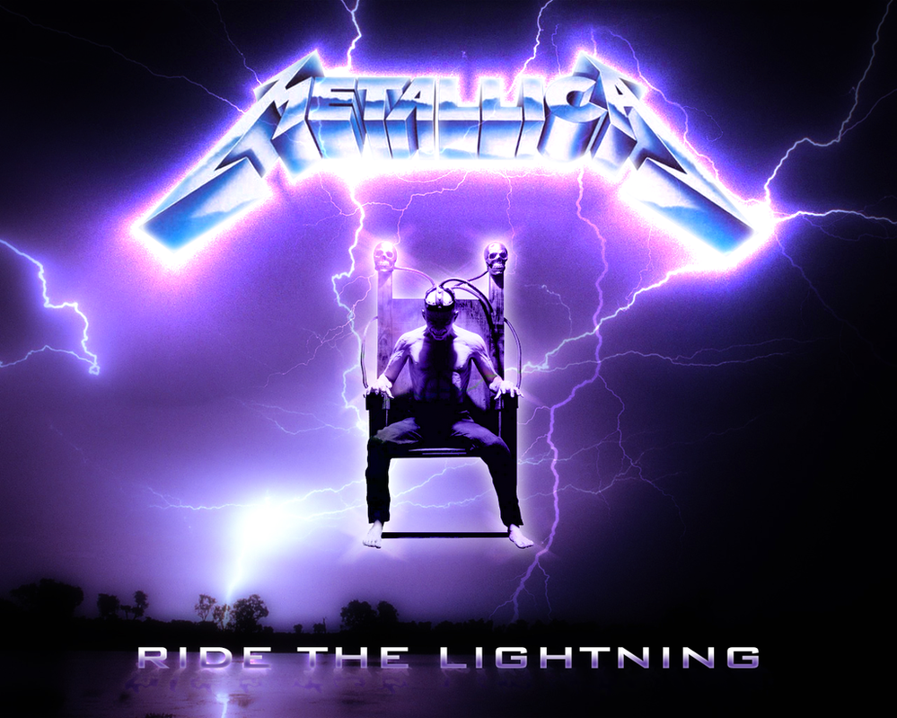 Ride The Lightning Wallpaper Metallica ride the lightning 999x799