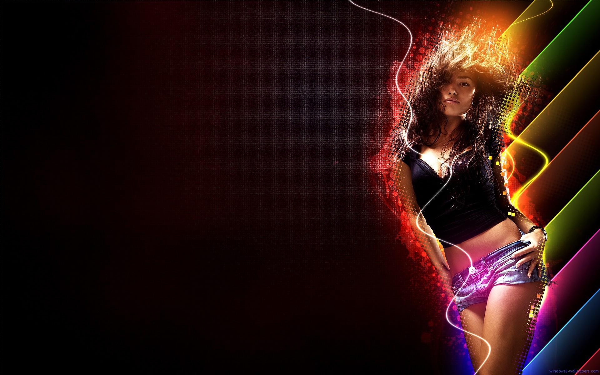 3d Girl Dance Hd Wallpapers: Dancing Wallpaper