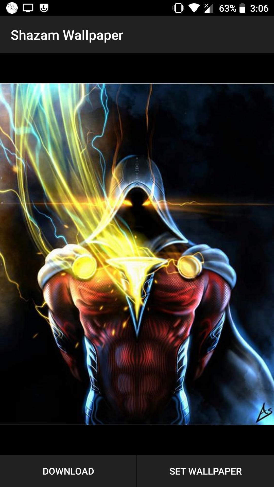 Free Download Sha Zam Superhero Wallpaper Hd 4k Backgrounds For