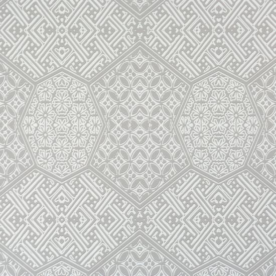 FunMozar Geometric Wallpaper In Gray 550x550