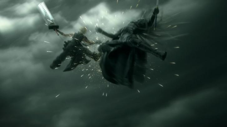 Cloud VS Sephiroth Wallpaper 728x409