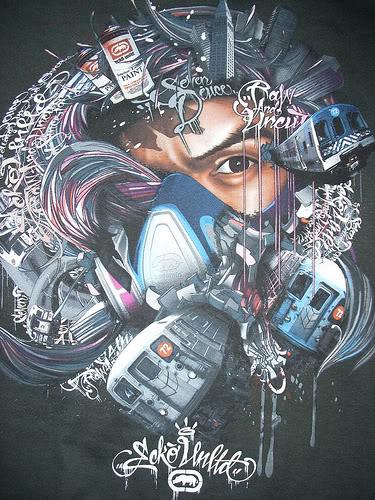 Marc Ecko Graffiti Piece 375x500