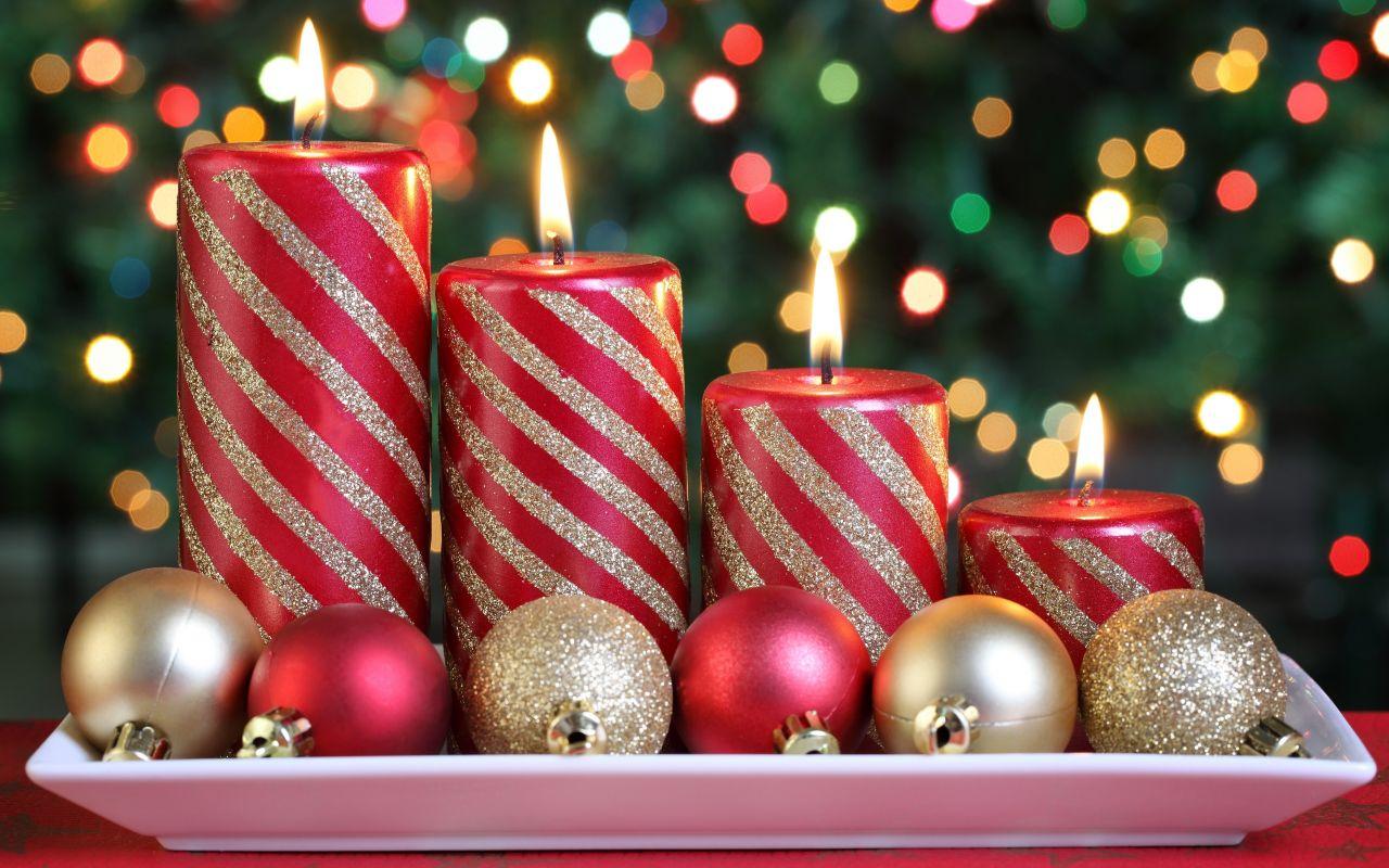 Christmas Candle wallpaper 2013 christmas candle wallpapers Christmas 1280x800