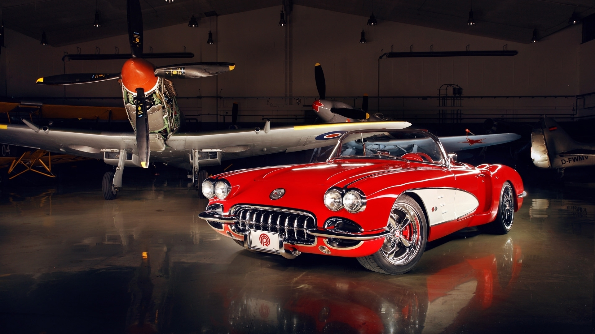 Corvette C1 1959   High Definition Wallpapers   HD wallpapers 1920x1080