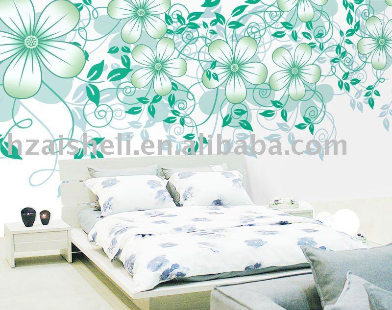 Categories Wall Murals Florals Customized bedroom wallpaper 800x633
