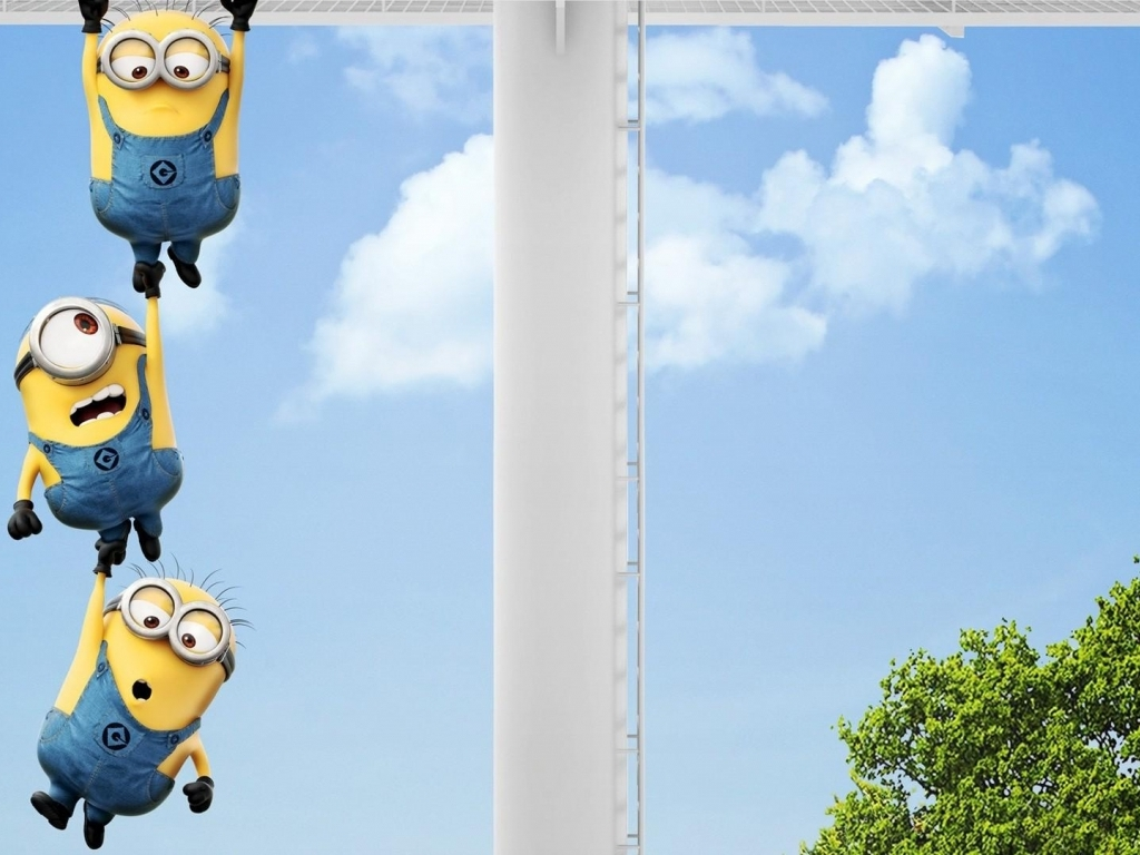 Download Minions on windows wallpaper in Movies wallpapers with all 1024x768