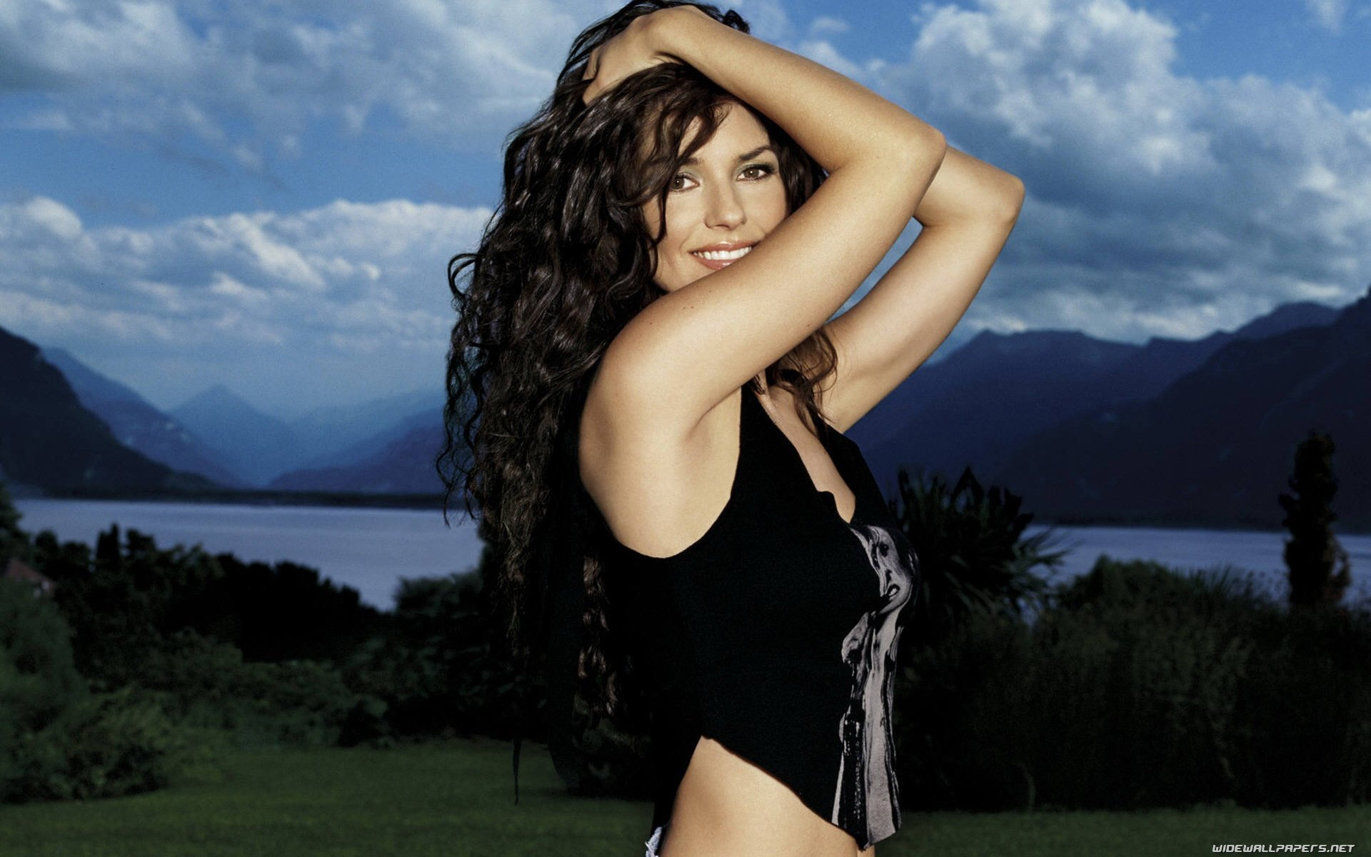 Shania Twain celebrity desktop wallpapers HD and wide 1920x1200