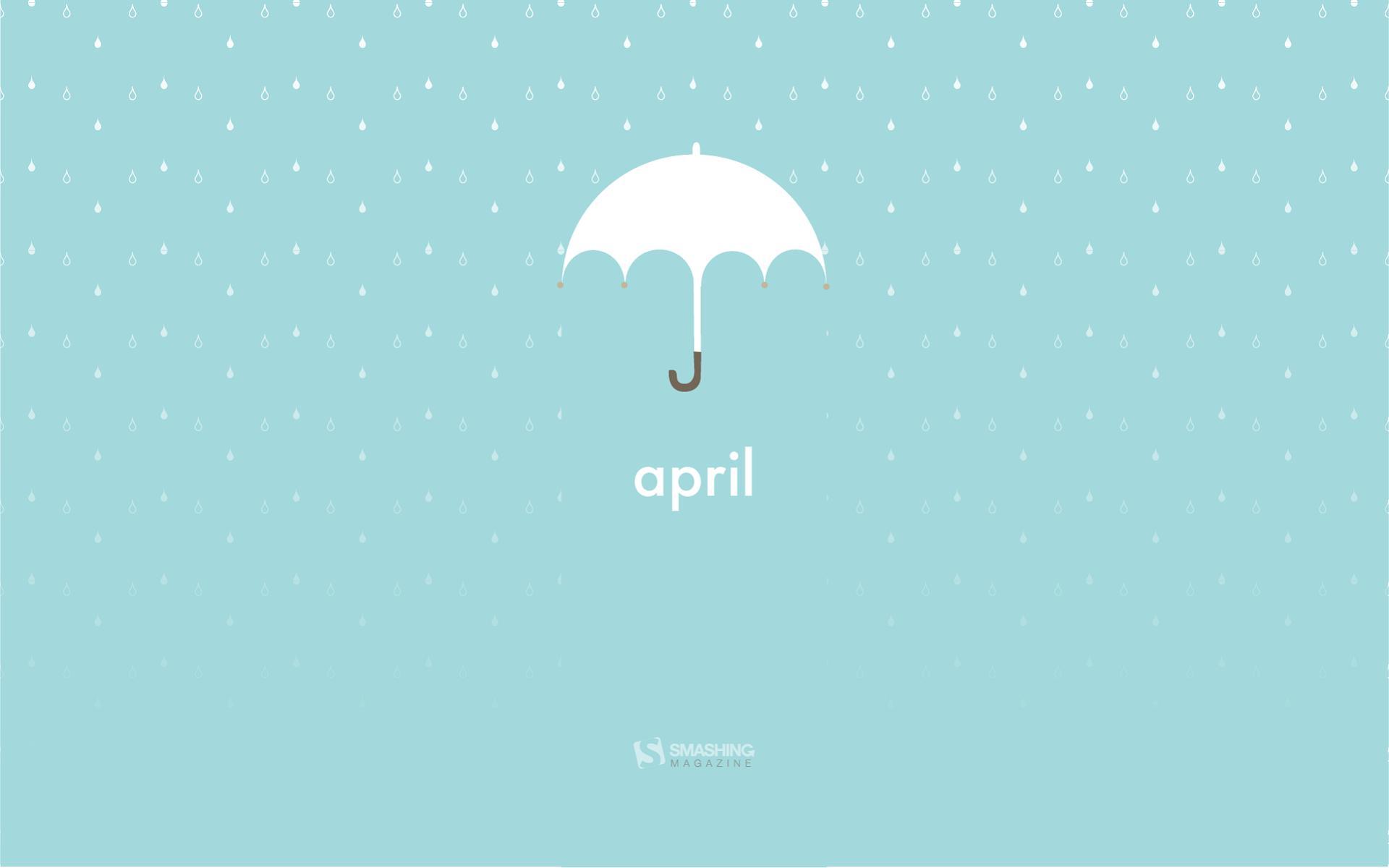 Download April Umbrella Wallpaper Wallpapers 1920x1200
