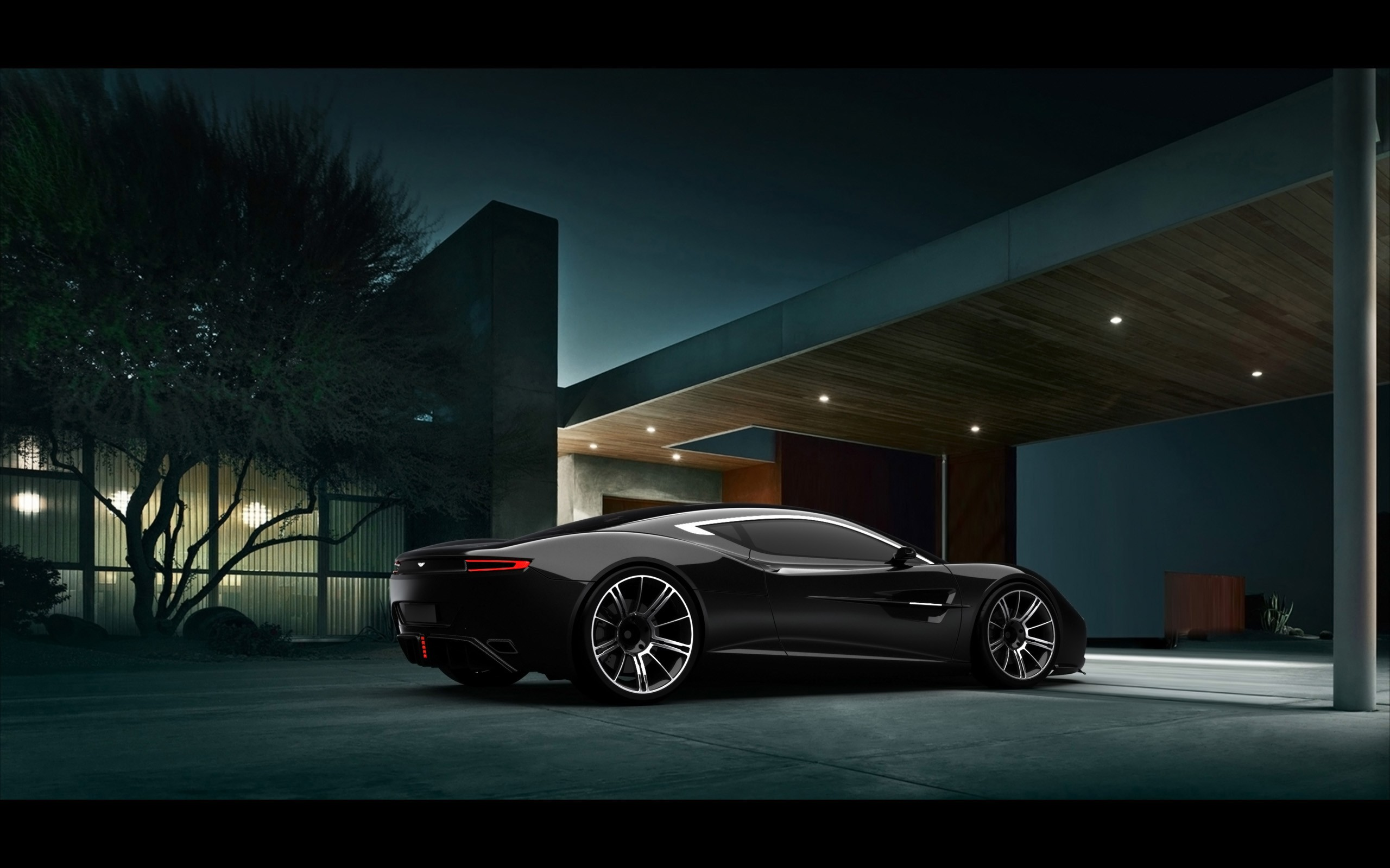 cars design black cars lifestyle Aston Martin DBC Wallpapers 2560x1600
