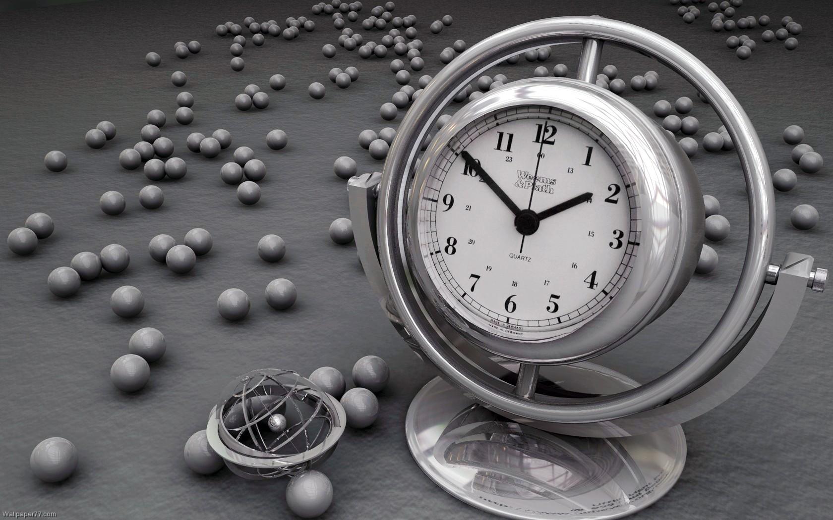 wall clock themes desktop background