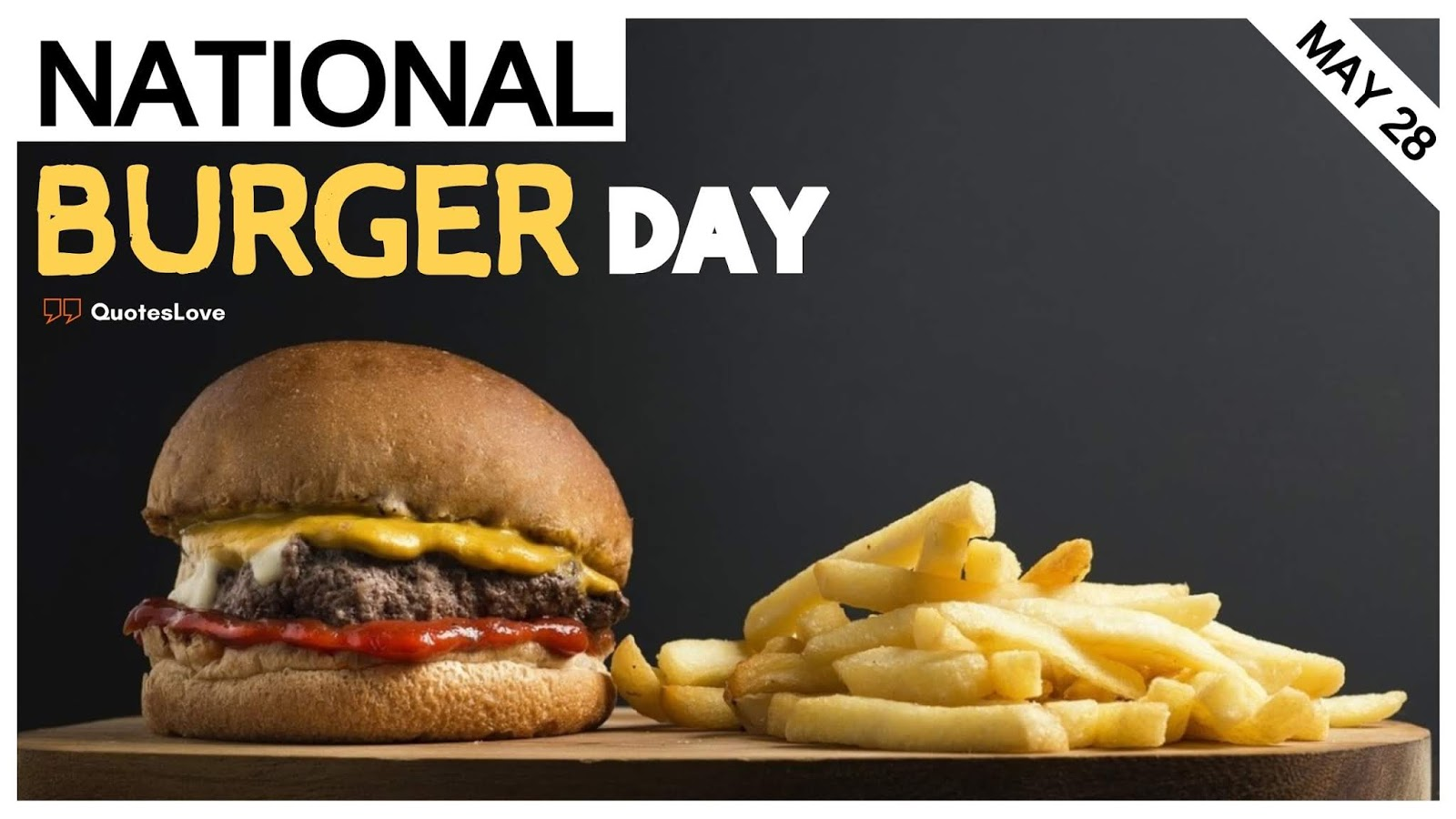 29 [Best] National Burger Day 2020 Quotes Messages Greetings 1600x900