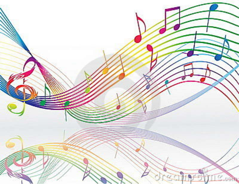 3d Colorful Music Notes Wallpaper: Cute Music Note Wallpaper