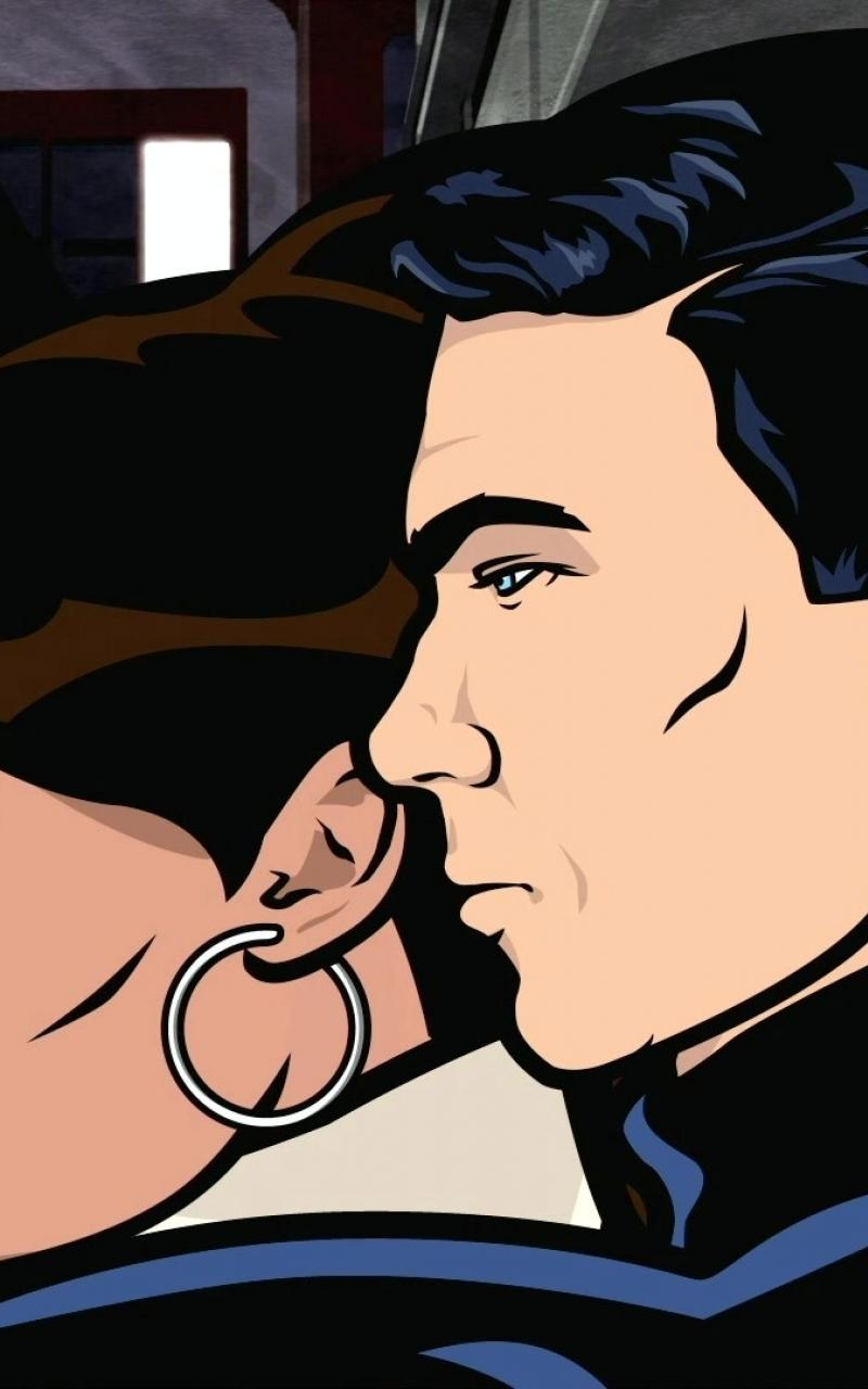 Sterling archer tv lana kane wallpaper 51769 800x1280