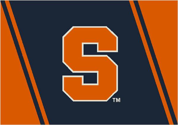 Syracuse Orange Team Logo Area Rug 600x421