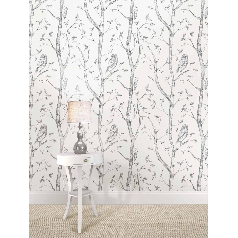 NuWallpaper Grey Woods Peel Stick Wallpaper   Walmartcom 1500x1500